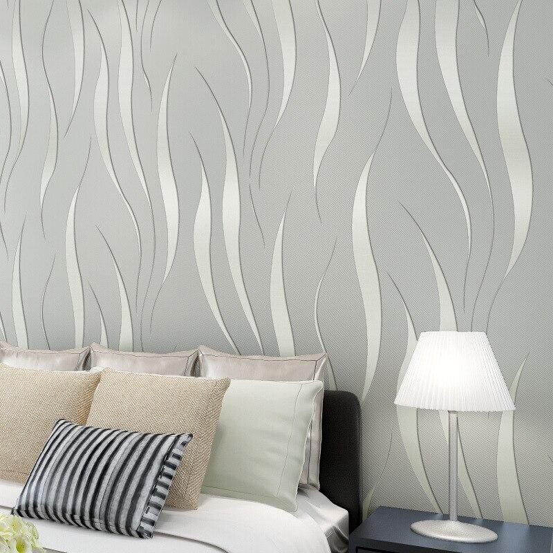 Modern 3D Abstract Geometric Wallpaper Roll For Room Bedroom Living room Home Decor Embossed Wall Paper GreyPurpleBeigeYellow